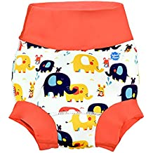 Splash About New and Improved Happy Nappy Swim Diapers (Little Elephants, 12-24 Months)