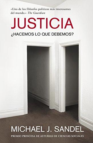 Amazon.com: Justicia: ¿Hacemos lo que debemos? (Spanish ...