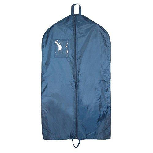 Nylon Double Handle - Liberty Bags Nylon Garment Bag with Double Handles, Navy