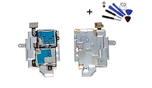 Flex Lector Tarjeta Sim Micro SD para Samsung Galaxy S3 I9300 ...
