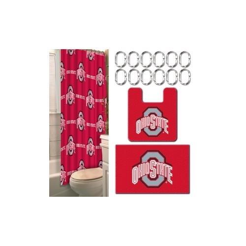 NCAA Michigan Wolverines 15 Piece Bathroom Set ()
