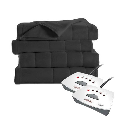 #1 Selling Sunbeam Electric Blanket - Extra Soft Fleece Heat
