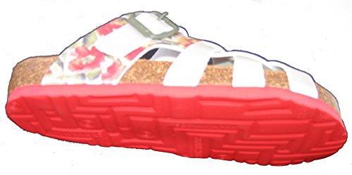 Dr. Brinkmann mujeres mulas 700901-4 rojo / de color caqui rojo / de color caqui
