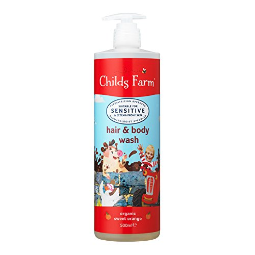 Childs Farm hair & body wash organic sweet orange 500ml CF510