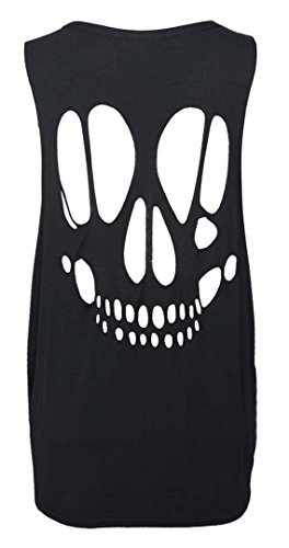 FK Styles - Camiseta sin mangas - para mujer negro