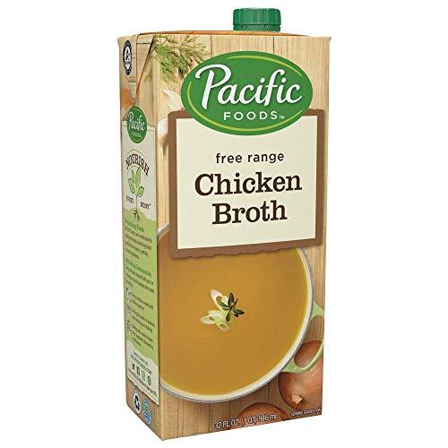 Pacific Foods Free Range Chicken Broth, 32oz, ()