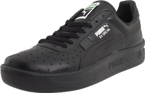 Men's GV Special Lace-Up Fashion Sneaker, Black/Black, 11.5