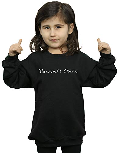 Fille Creek Text Dawson's Noir Sweat Logo Absolute shirt Cult HwaqOU