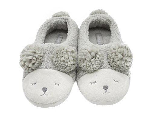 Low Grey Soft T dream Indoor Women Cozy House Slippers Booties Plush Warm top Couples Outdoor Sheep ZUZTO