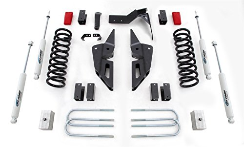 Pro Comp Suspension K2089B Stage I Lift Kit 4 in. Lift Front Strut Spacer And Rear ES9000 Stage I Lift Kit by Pro Comp Suspension