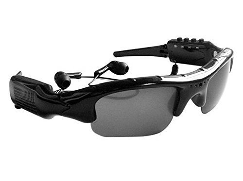 16G Sunglasses 4 in 1 MP3 Player DVR Mini Camera Camcorder Video Recorder Support Micro SD Card [並行輸入品] B01KBR87XI