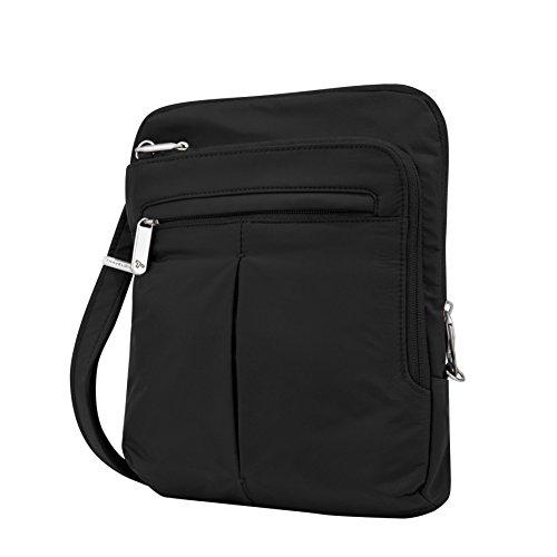 Travelon Anti-Theft Classic Lite Slim Bag, Black