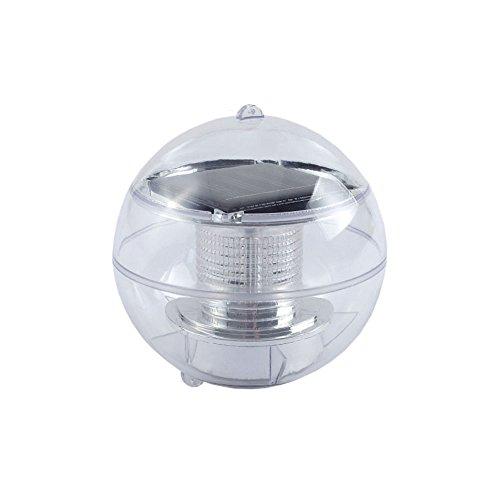 Solar Light Fan (White/Blue) - 7