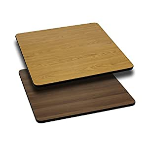 X Reversible Table Top Available From Flash Furniture