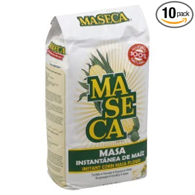 Maseca Corn Flour Mix, 4.4 Pound - 10 per case.