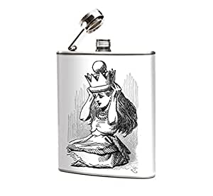 Oso and Bean Alice in Wonderland Queen Alice Hip Flask