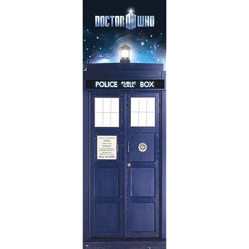 Doctor Who - TV Show Door Poster (The Tardis u0026 Vortex) (Size 21  x 62 )  sc 1 st  Amazon.com & Door Posters: Amazon.com pezcame.com