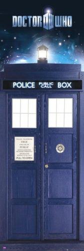 Doctor Who - TV Show Door Poster The Tardis & Vortex