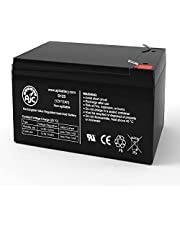 Pride Mobility Go-Go Elite Traveller 12V 12Ah Mobility Scooter Battery - This is an AJC Brand Replacement