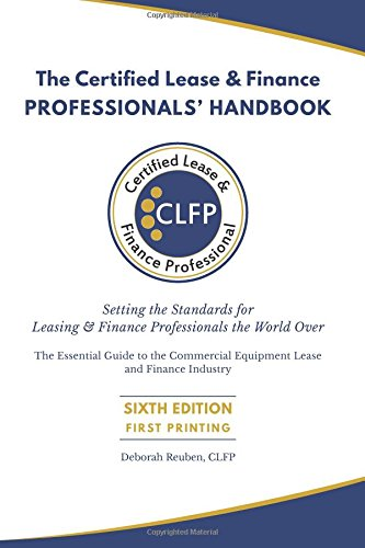 The Certified Lease   Finance Professionals Handbook