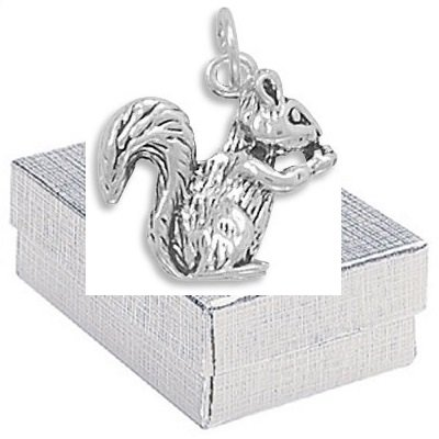 Sterling Silver Squirrel Nature Jewelry product image