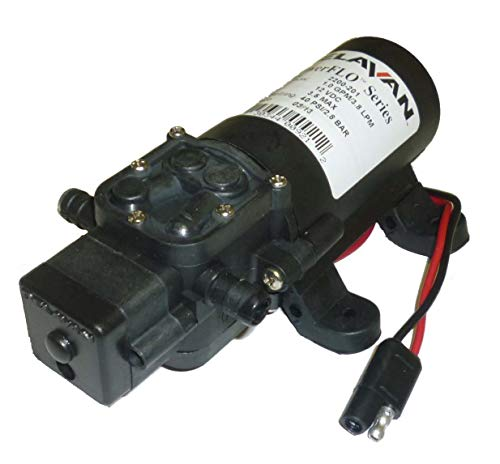 (Delavan 2200 Series Diaphragm Pump 12V, 40 PSI, 1.0 GPM, Deman)