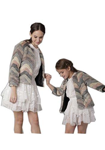 Thicken Sintético Abrigo Capa Disfraces De Outwear Daughter 0qwdqHS