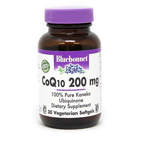 Vegetarian 30 Softgels (Bluebonnet Nutrition, Coq10 200mg, 30 Softgels)