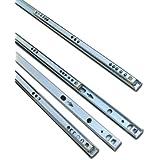 5 Pairs Metal Ball Bearing Drawer runner Pr 278mm draw depth for 17mm