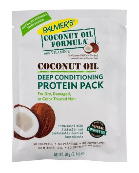 Protein Deep (Palmers Coconut Oil Formula Deep Conditioning Protein Pack, 2.1 Oz (Pack of 4))