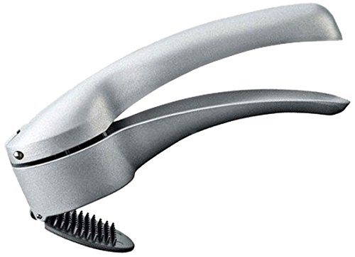 Moha Galien Garlic Press with Cleaning Stopper, Stainless Steel 32611