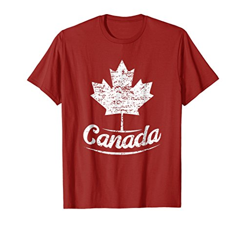 Vintage Canada Flag T-Shirt Canadian Flag Maple Leaf