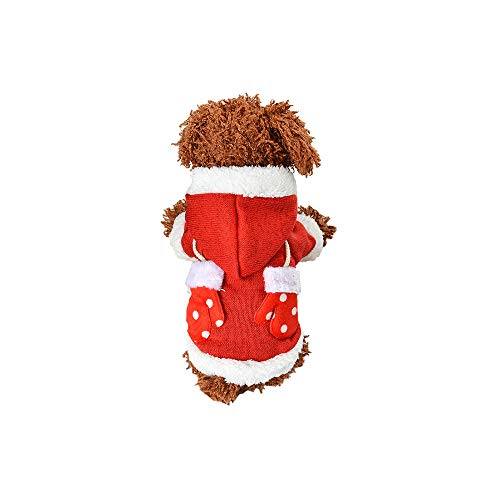 Midoo Pet Cute Candy Color Knitted Casual Autumn Winter Hoodies for Dog Cat Clothes