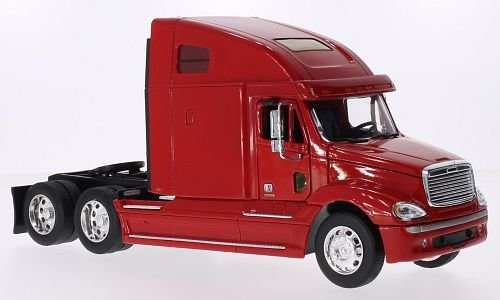 Freightliner Columbia, red, Model Car, Ready-made, Welly 1:32