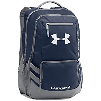 Under Armour Hustle II Storm Laptop Backpack (One Size, Midnight-Navy)