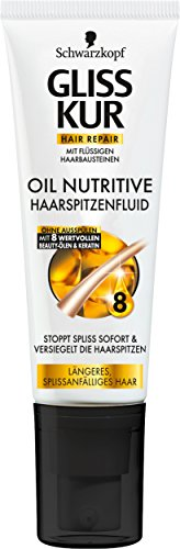 Gliss Kur Oil Nutritive Haarspitzenfluid, 2er Pack (2 x 50 ml)