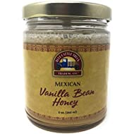 Blue Cattle Trucking Co. Gourmet Mexican Vanilla Bean Honey, 9 Ounce