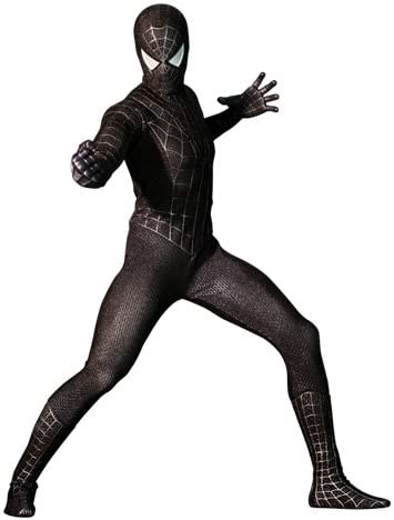 Hot Toys Spider-Man 3 Spider-Man Black Suit Version 1/6 Scale 12