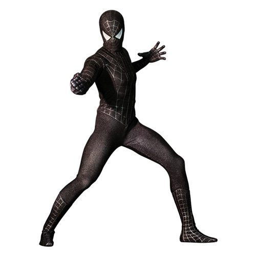 Hot T (Black Suit Spiderman Costume)