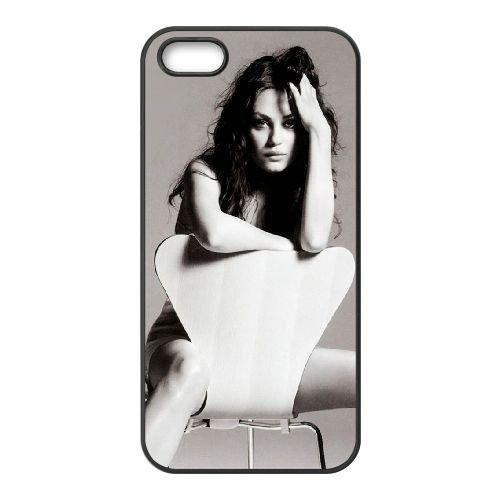 Mila Kunis magazine GQ TO87EM6 coque iPhone 4 4s téléphone cellulaire cas coque F3CJ4R3YO