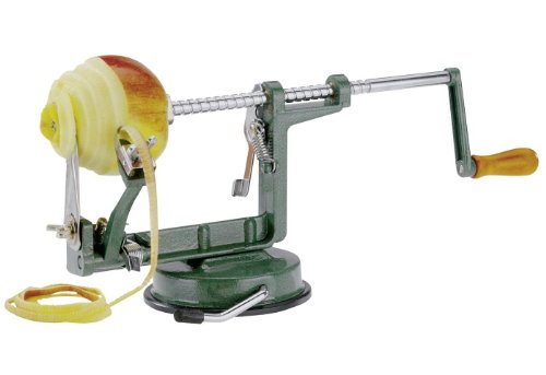 ple Dream' Peeler Slicer and Corer With Non-Slip Suction Pad, Silver (Westmark Apple Corer)