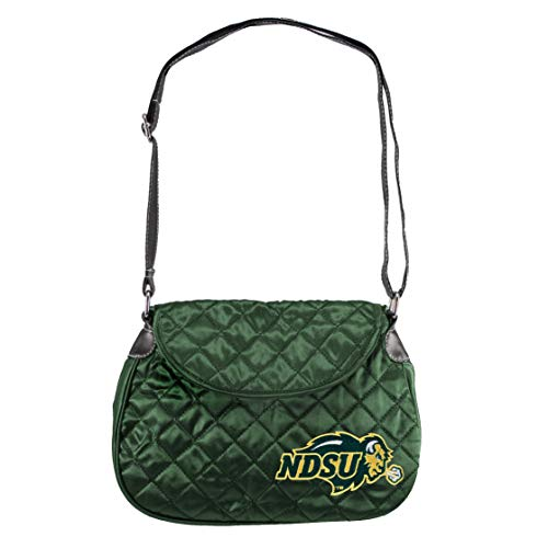 NCAA North Dakota State Bison Quilted Saddlebag, Green, used for sale  Delivered anywhere in Canada