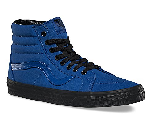 Vans Mens Sk8-Hi Reissue Black Outsole Sneaker True Blue/Black Size 13 (Sk8 Hi Sneaker)
