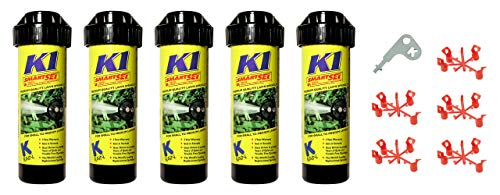 K-Rain K1 5-Pack with Install Kit