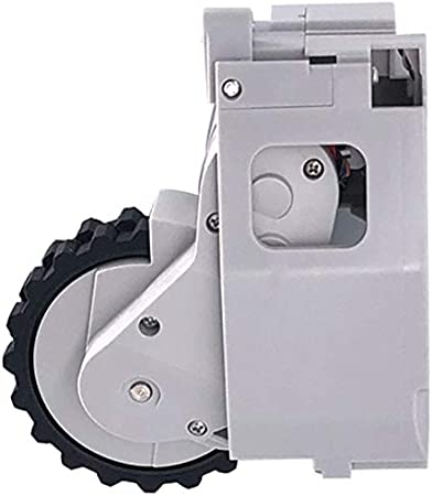 CUHAWUDBA para Mi Robot Caster Motor Rueda de Ensamblaje de Ruedas para Mi Robot Aspiradora Piezas de Reparación de Robots Accesorios (R): Amazon.es: Hogar