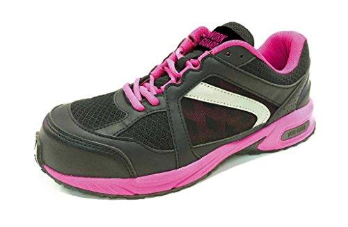 bc482cdc1c48bd Damen Arbeits- Halbschuh Sicherheitsschuhe Damen S1P leicht sportlich  Pink Black