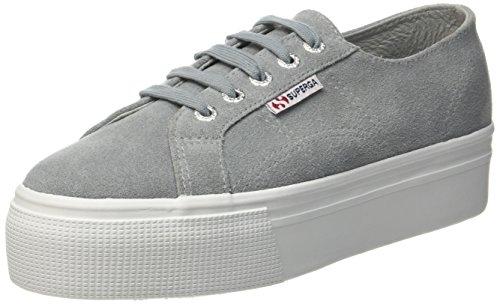 Superga 2790 Suew, Sneaker Basse Donna Grau (Lt. Grey)