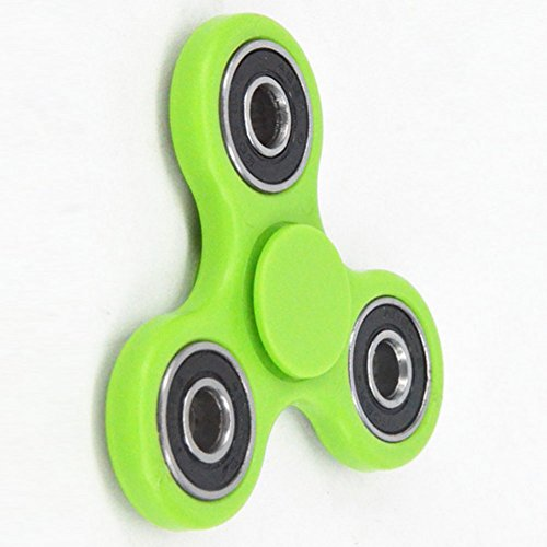 Price comparison product image Hand Spinner Toy Releasing ADHD, anxiety, autism and stress relief for Children and Adults - Toy Great Gift (green)