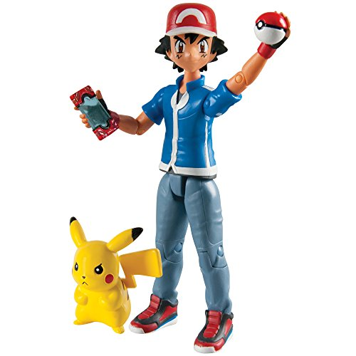Pokémon Hero Figure, Ash And Pikachu Pokemon Ash Pikachu