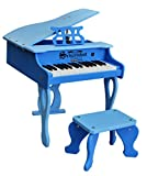 Schoenhut 30 Key Digital Baby Grand Piano, Blue
